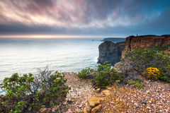 Fantastisk sjösida av Portugal Royaltyfri Fotografi