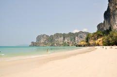 Fantastisk strand i Thailand Arkivfoton