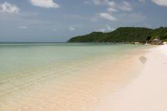 Fantastisk strand i Vietnam Arkivfoton