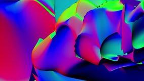 Fantastisk struktur av färgrika bubblor Universum för yttersida för målarfärg för ljus olja för färgbubblaultrarapid härligt av f lager videofilmer