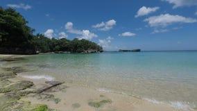 Fantastisk tropisk kust arkivfilmer