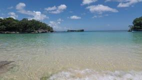 Fantastisk tropisk kust lager videofilmer