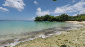 Fantastisk tropisk kust stock video