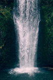 Fantastisk vattenfall Fotografering för Bildbyråer