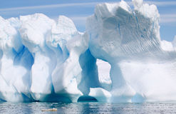 Fantastiska isberg Arkivfoton