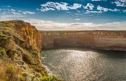 Fantastiska klippor av den stora havvägen i Victoria - Australien Royaltyfri Bild