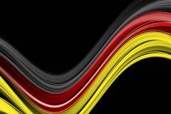 Fantastiska tyskfärger för sporthändelser stock illustrationer