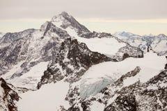 Fantastiskt berglandskap från Engelberg, Schweiz Arkivfoto