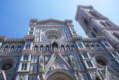 fantastiskt detailed basilicadel diden ytterberömda fioreflorence landmarken maria mest natt santa Royaltyfri Bild