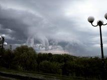 Fantastiskt himmellandskap Arkivfoto