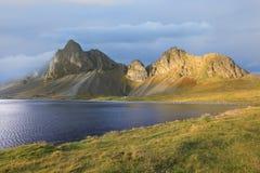 Fantastiskt icelandic landskap Arkivfoto
