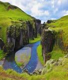 Fantastiskt land Island royaltyfri fotografi