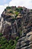 Fantastiskt landskap i Meteora, Grekland Royaltyfria Bilder