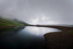 Fantastiskt landskap i Waidring, Tirol, Österrike Royaltyfria Bilder