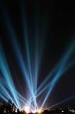 Fantastiskt ljus i den mörka himlen Royaltyfri Fotografi