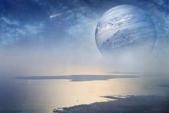 fantastiskt planet arkivbild