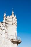 fantastiskt slott royaltyfria foton