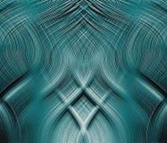 Fantastyczne błękitny target510_0_ nici Royalty Ilustracja