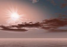 fantastyczne obcych wschód słońca Zdjęcie Stock