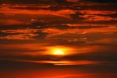 fantastyczne słońca Obrazy Royalty Free