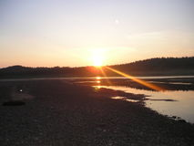 fantastyczne słońca Obraz Stock
