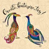 Fantastyczni ptaki 2 Zdjęcie Royalty Free