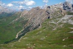 Fantastyczny dolomit góry krajobraz Zdjęcie Stock