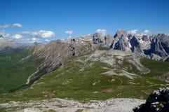 Fantastyczny dolomit góry krajobraz Zdjęcie Royalty Free