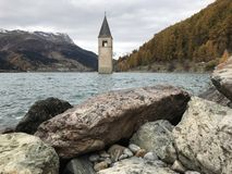 fantastyczny jezioro fotografia royalty free