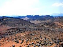 Fantastyczny krajobraz w Egipskiej piasek pustyni Obrazy Stock