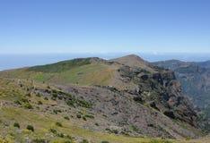 Fantastyczny widok górski w maderze Fotografia Royalty Free