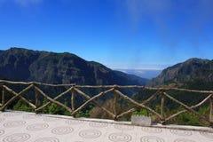 Fantastyczny widok górski w maderze Zdjęcia Royalty Free