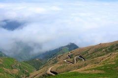 Fantastyczny widok górski w maderze Obraz Royalty Free