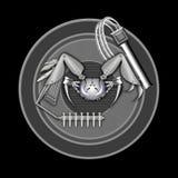 Fantastyka naukowa krab Zdjęcia Royalty Free
