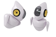 Fantastyka naukowa śliczny robot Zdjęcie Stock