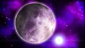 Fantastyka naukowa planeta pętla ilustracji