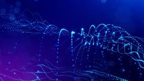 Fantastyka naukowa skład z oscylować świecące cząsteczki  zbiory