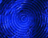 Fantasy. Fractal Illustration blue  backround colors Royalty Free Stock Photography