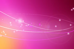 Fantasy. Image of glowing lines leading to fantasy Royalty Free Stock Photos