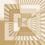 Fantasy abstract tunnel in brown Stock Photos