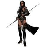 Fantasy Action Figure. 3d render of a fantasy action figure Stock Image