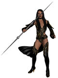 Fantasy Action Figure. 3d render of a fantasy action figure Royalty Free Stock Image