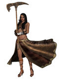 Fantasy Action Figure. 3d render of a Fantasy Action Figure Stock Images