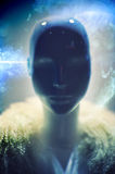 Fantasy alien portrait Royalty Free Stock Photo