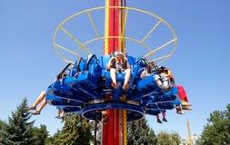 The Fantasy Amusement park in Almaty Stock Photo