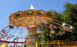 The Fantasy Amusement park in Almaty Stock Photography