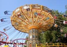 The Fantasy Amusement park in Almaty Royalty Free Stock Photos