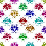 Fantasy Angry Birds Drawings Pattern Royalty Free Stock Photography