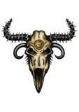Fantasy animal skull Royalty Free Stock Image