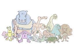 Fantasy animals Stock Image